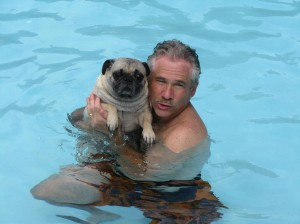 Swimming Lesson with Uncle Chuck Bender