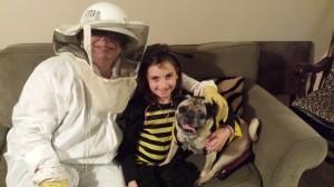 The Beekeeper and her adorabeel bees