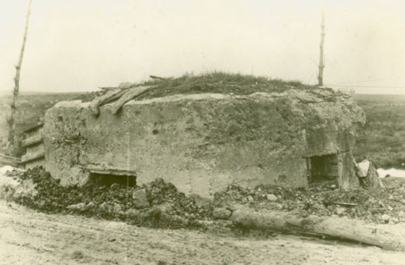 Example of a German Pillbox